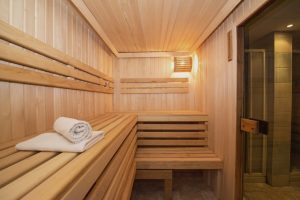 Sauna in na de training