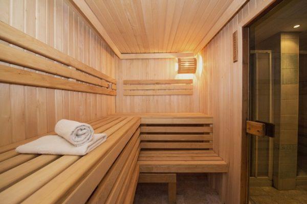 Sauna in na de training