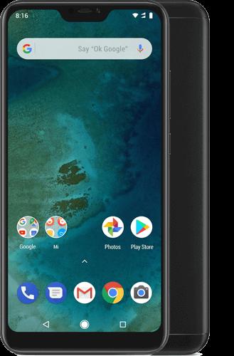 Xiaomi Mi A2 lite Dual-SIM 64GB plus Mi Band 3 Black
