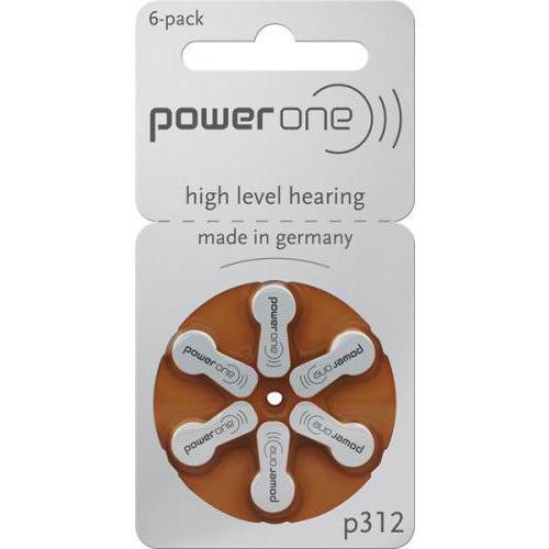 power one p312 batterij