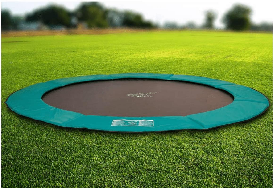 makkelijk je eigen ingegraven trampoline