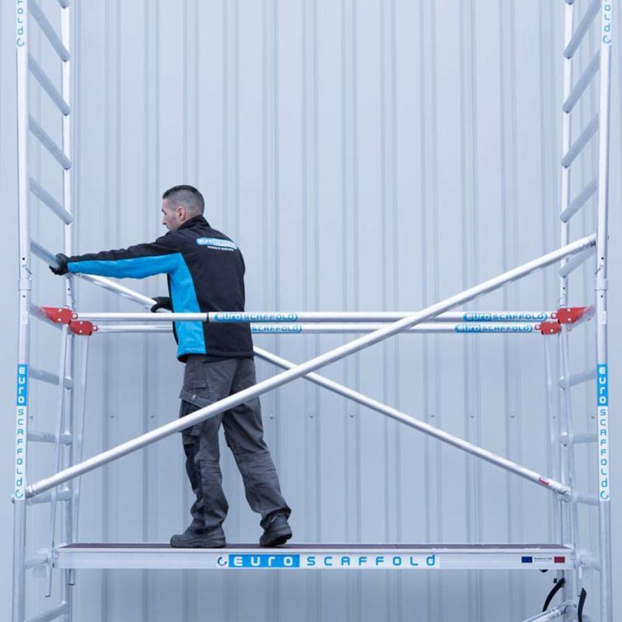 Gebruik een rolsteiger voor een veilige werkomgeving