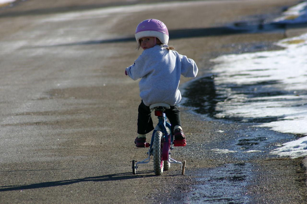 eerste fiets peuter