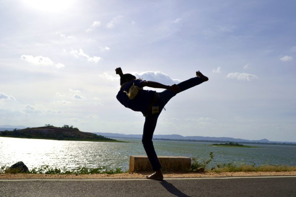 gevaarlijke sport kung fu