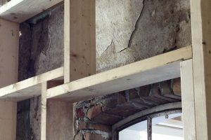 juiste materialen voor het isoleren van de buitenmuren.