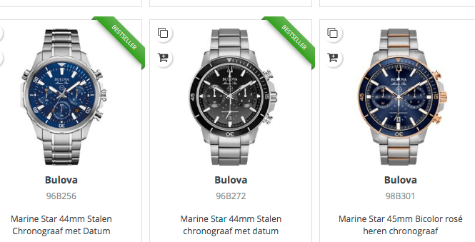 Bulova-horloges