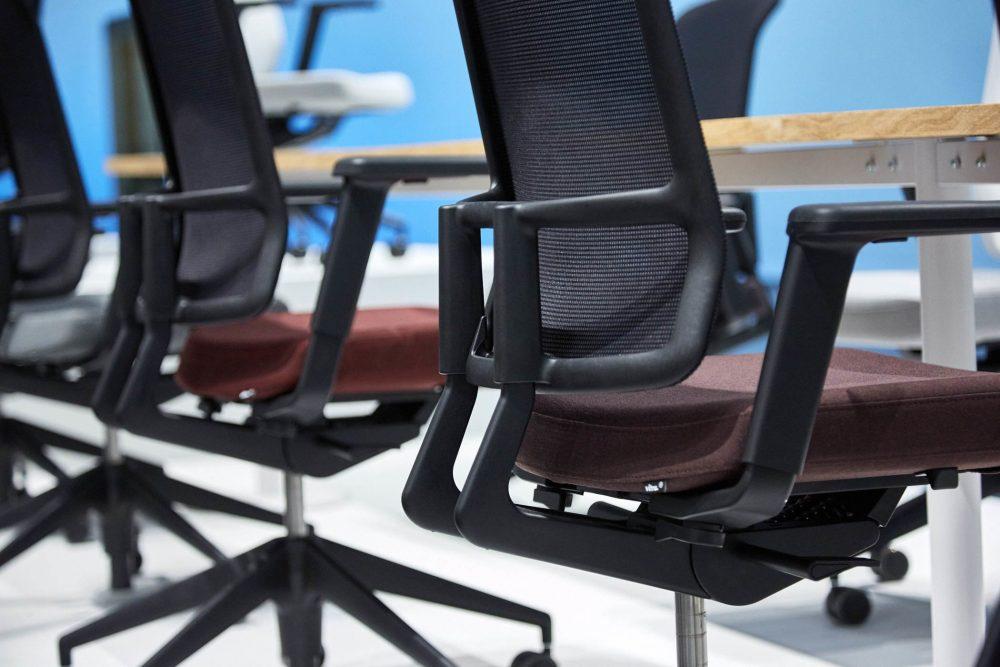 bureaustoelen van Vitra