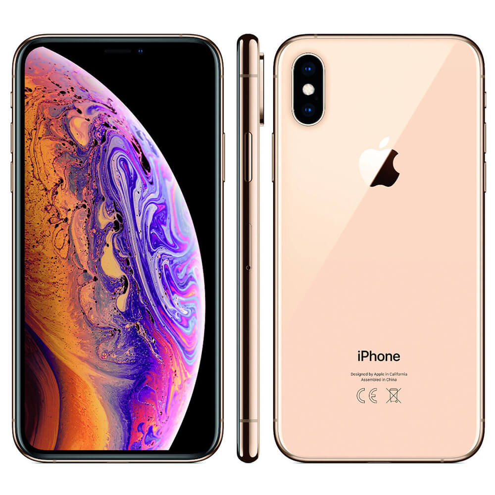 refurbished iPhone Xs goud