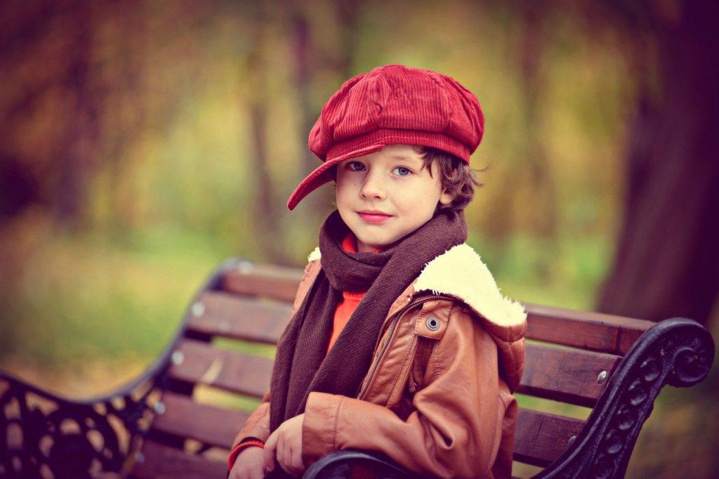 Kinderen genieten van goede kleren